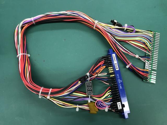 COMBO AV用電圧計付き専用ハーネス