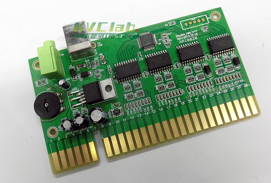 JAMMA to USB変換 コンバータ基板