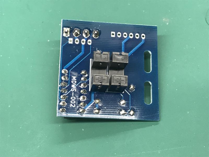 パドルコントローラー用 マルチセンサー基板