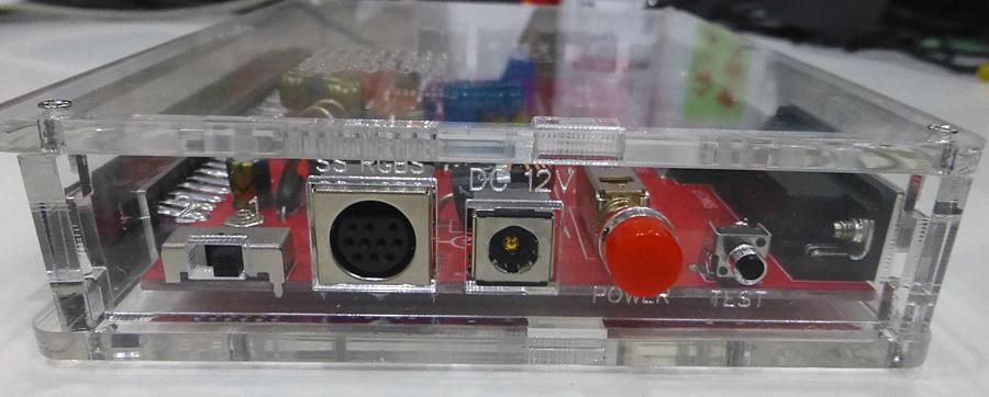 簡易コントロールボックス【竹】CBOX/JAMMA BOX + RGBケーブルセット(ACサービス中)