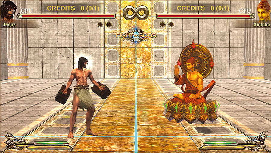 FIGHT OF GODS 神々の戦い ARCADE EDITION (exA-Arcadia専用ROM) 【受注発注商品】
