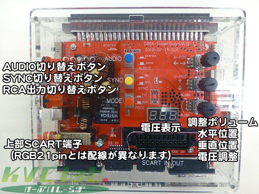 簡易コントロールボックス【スーパー松】CBOX/JAMMA BOX(ACサービス中)