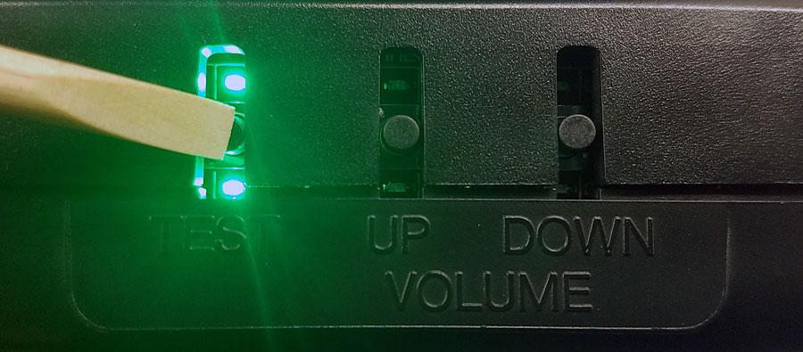 【保守パーツ】 Undamned CPS2ボタン交換ユニット by UD GameTech