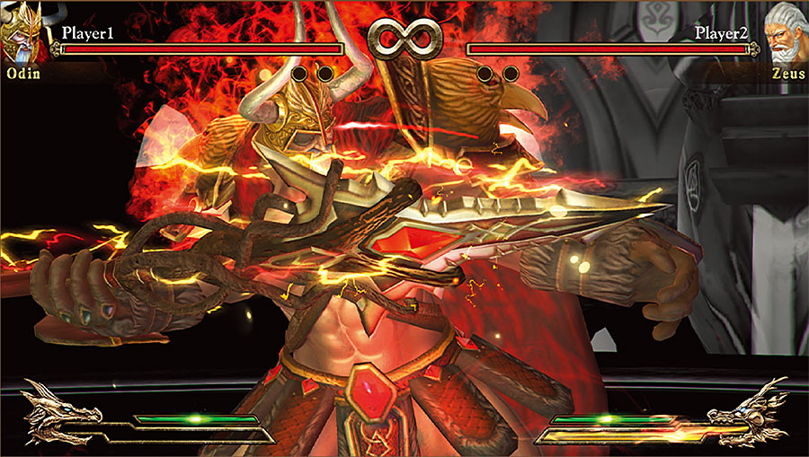 FIGHT OF GODS 神々の戦い ARCADE EDITION  (exA-Arcadia マザーボード + ROMセット) 【受注発注商品】