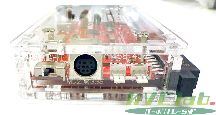 簡易コントロールボックス【USB V1.0】CBOX USB V1.0 + MD2互換RGB21ピンケーブルセット(ACサービス中)