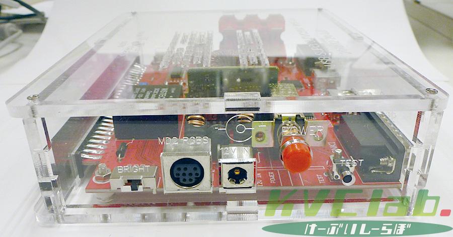 簡易コントロールボックス【USB V3.0】CBOX USB V3.0 + MD2互換RGB21ピンケーブルセット(ACサービス中)