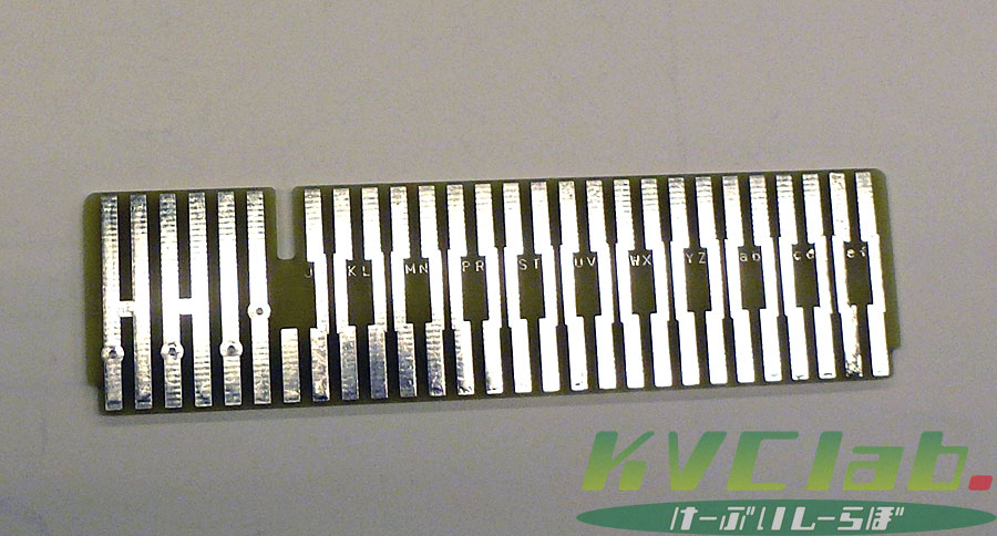 【受注販売品】まとめ買い100枚  KVCオリジナル 56Pカードコネクタ