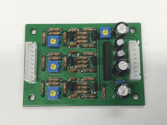 任天堂基板用RGB反転回路+音声AMPボード