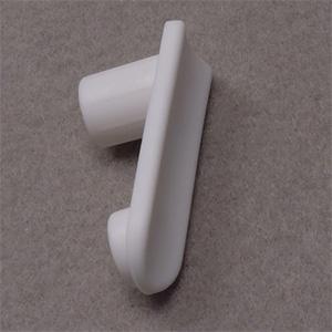 【Z48979】シャワーハンガー用回転止めパッキン ホワイト