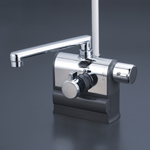 【KF3008R】デッキ形サーモスタット式シャワー 右ハンドル仕様