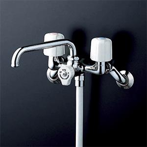 【KF104】一時止水付2ハンドルシャワー