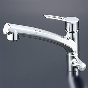 【KM5061N】ビルトイン浄水器用シングルシャワー付混合栓