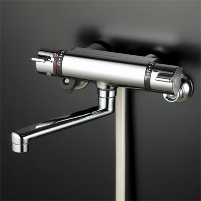 【KF800TR3】サーモスタット式シャワー 300mmパイプ付