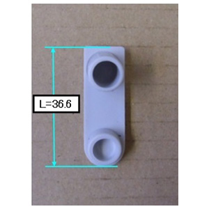 【Z410654】シャワーハンガー用回転止めパッキン グレー