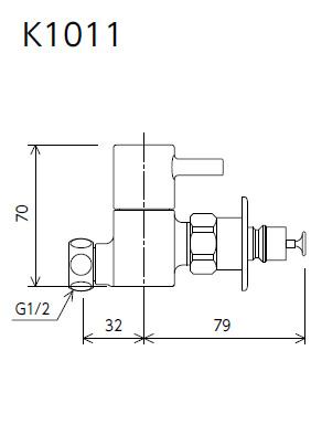 【K1011】分岐止水栓
