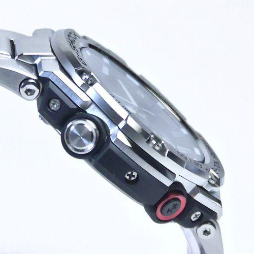 カシオGショックGスチール Bluetooth搭載 ソーラー腕時計  GST-B100D-1AJF メンズ 国内正規品