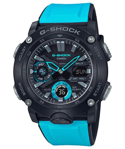 カシオGショック アナログ・デジタル腕時計  GA-2000-1A2JF メンズ 国内正規品