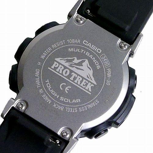 カシオ プロトレック クライマーライン デジタルソーラー電波腕時計 PRW-30-1AJF メンズ 国内正規品