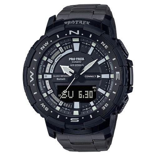 カシオ プロトレック アナログ・デジタル腕時計  PRT-B70YT-1JF メンズ スマートフォンリンク Angler Line  国内正規品