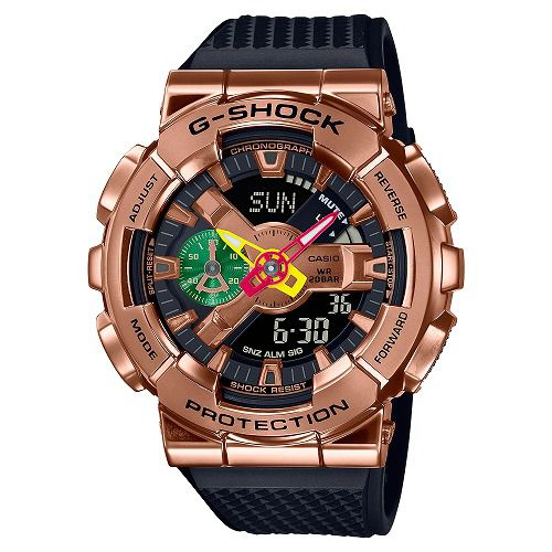 CASIO G-SHOCK アナログ・デジタル腕時計 GM-110RH-1AJR メンズ 八村塁シグネチャーモデル第二弾 国内正規品