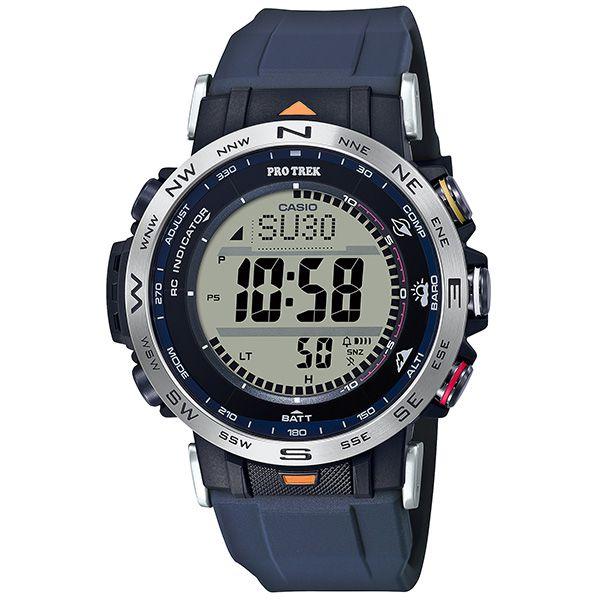 カシオ プロトレック クライマーライン デジタルソーラー電波腕時計 PRW-30AE-2JR メンズ カラビナアタッチメント付属 国内正規品