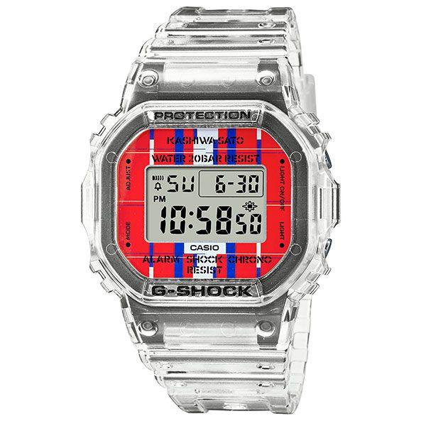 CASIO G-SHOCK デジタル腕時計  DWE-5600KS-7JR  KASIWA SATO Collaboration Model 限定品  国内正規品