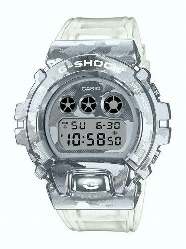 カシオGショック デジタル腕時計 GM-6900SCM-1JF Skeleton Camouflage Series メンズ 国内正規品