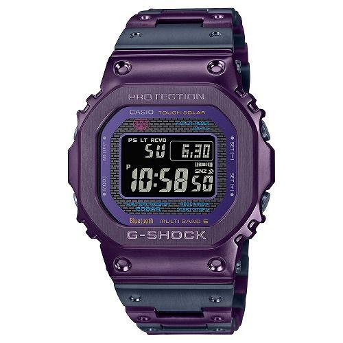 カシオGショック Bluetooth 搭載 ソーラー電波腕時計 GMW-B5000PB-6JF メ ンズ バイカラー 限定品  国内正規品