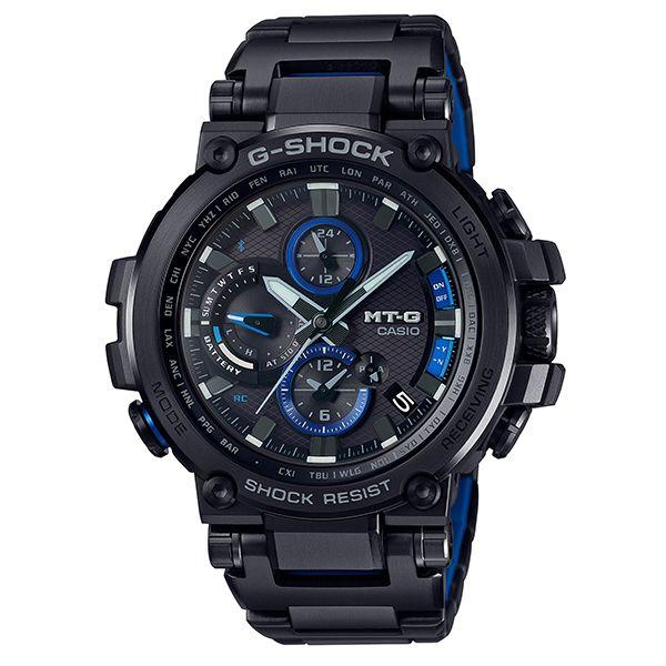 カシオGショック Bluetooth搭載 電波ソーラー腕時計  MT-G MTG-B1000BD-1AJF メンズ 国内正規品