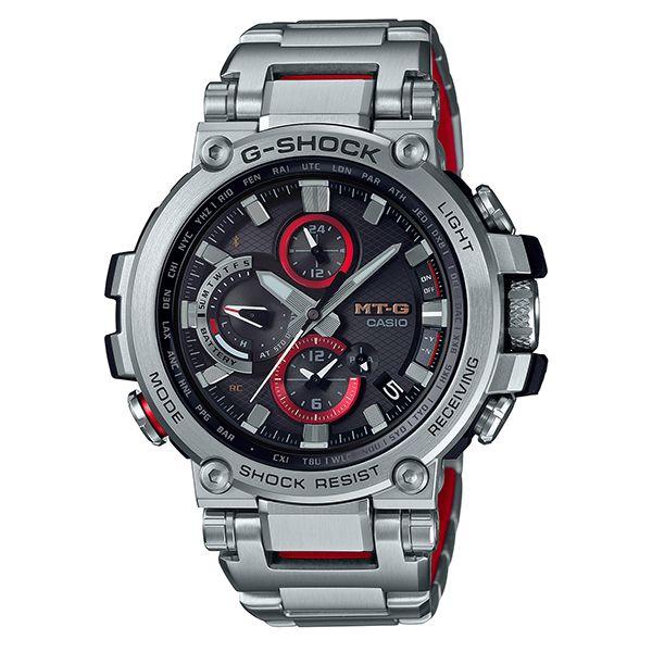 カシオGショック Bluetooth搭載 電波ソーラー腕時計  MT-G MTG-B1000D-1AJF メンズ 国内正規品