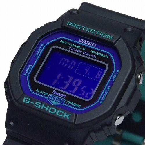 カシオGショック Bluetooth搭載ソーラー電波腕時計  GW-B5600BL-1JF メンズ 国内正規品