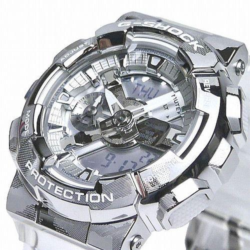 CASIO G-SHOCK アナログ・デジタル腕時計 GM-110SCM-1AJF Skeleton Camouflage Series メンズ 国内正規品