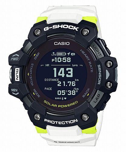 カシオGショック ジー・スクワッド 心拍計 GPS機能 Bluetooth 搭載 ソーラー電波腕時計 GBD-H1000-1A7JR メンズ 国内正規品