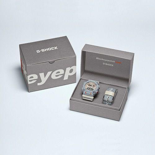 カシオGショック アナログ・デジタル腕時計 GA-900BEP-8AJR メンズ BlackEyePatch コラボレーションモデル 国内正規品