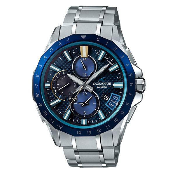 カシオ オシアナス Bluetooth搭載GPSハイブリッド電波ソーラー腕時計   OCW-G2000RA-1AJF メンズ 3年保証 国 内正規品