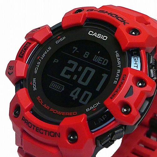 カシオGショック ジー・スクワッド 心拍計 GPS機能 Bluetooth 搭載 ソーラー電波腕時計 GBD-H1000-4JR メンズ 国内正規品