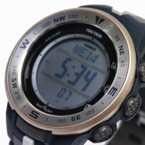 カシオ プロトレック ソーラーデジタル腕時計  PRG-330GE-5JR メンズ 日本自然保護協会コラボレーションモデル 国内正規品