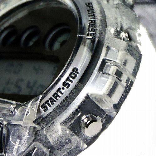カシオGショック デジタル腕時計  DW-6900SK-1JF Clear Skeleton メンズ 国内正規品 限定品