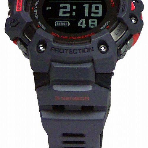 カシオGショック ジー・スクワッド 心拍計 GPS機能 Bluetooth 搭載 ソーラー電波腕時計 GBD-H1000-8JR メンズ 国内正規品