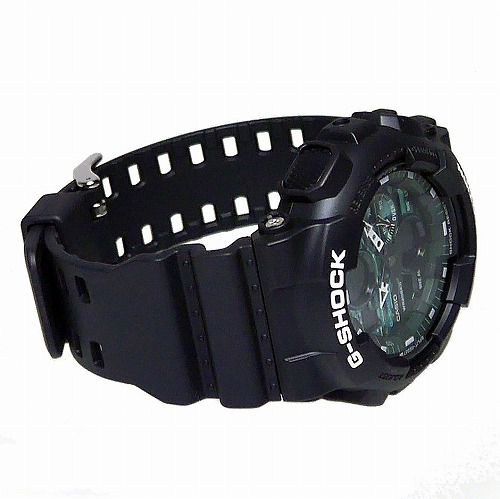 CASIO G-SHOCK アナログ・デジタル腕時計 GA-140MG-1AJF メンズ  Black and Green Series 国内正規品