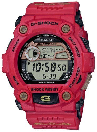 カシオGショック 七福神 恵比寿モデル限定品  デジタル腕時計  G-7900SLG-4JR メンズ  国内正規品
