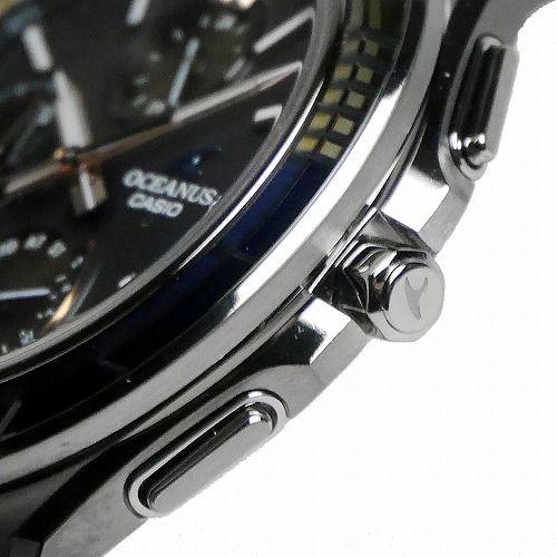 カシオ オシアナス マンタ Bluetooth搭載 ソーラー電波腕時計 OCW-S5000D-1AJF メンズ 世界限定2000本 3年保証 国内正規品