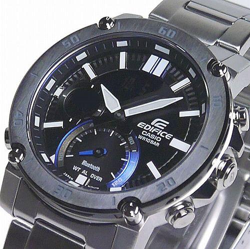 カシオ エディフィス 腕時計 ECB-20YDB-1AJF スマートフォンリンク メンズ 国内正規品
