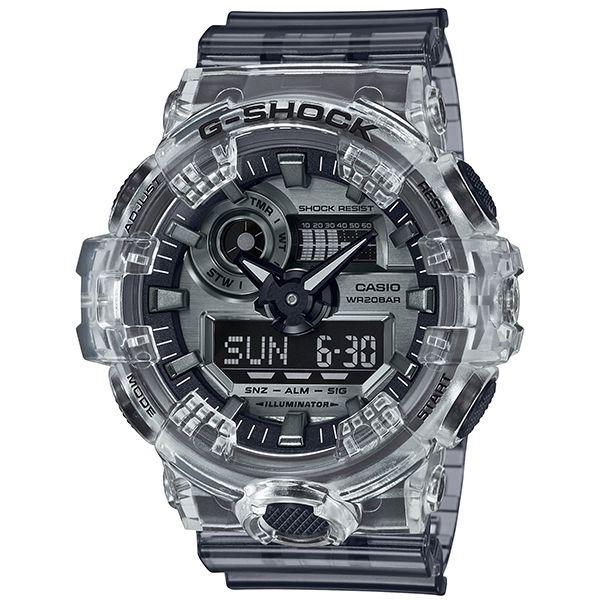 カシオGショック アナデジ腕時計  GA-700SK-1AJF Clear Skeleton メンズ 国内正規品 限定品
