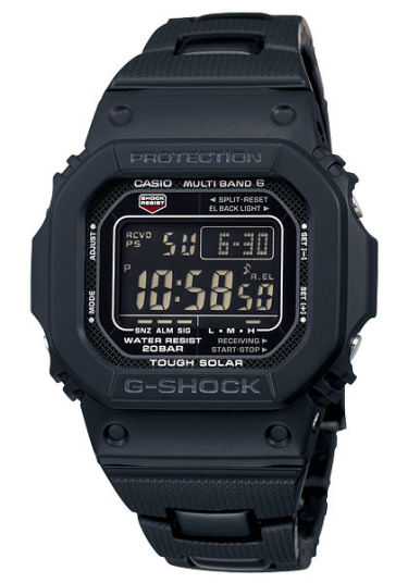 カシオGショック黒 ソーラー電波腕時計  GW-M5610BC-1JF メンズ