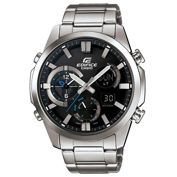 カシオ エディフィス アナログ・デジタル腕時計  ERA-500D-1AJF デュアルダイアルワールドタイム搭載 メンズ 国内正規品 【動画有】