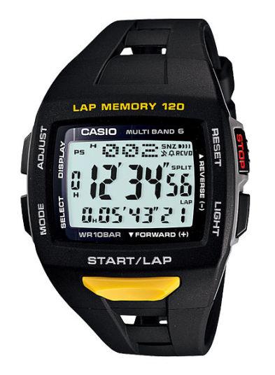 カシオ フィズ ソーラー電波腕時計   STW-1000-1JF ランナー用モデル メンズ