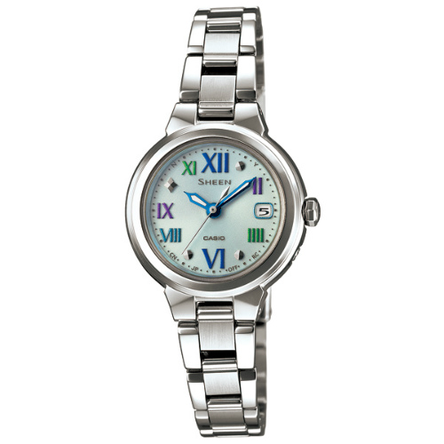 カシオ シーン ソーラー電波腕時計   SHW-1508CD-2AJF レディース 国内正規品 【動画有】