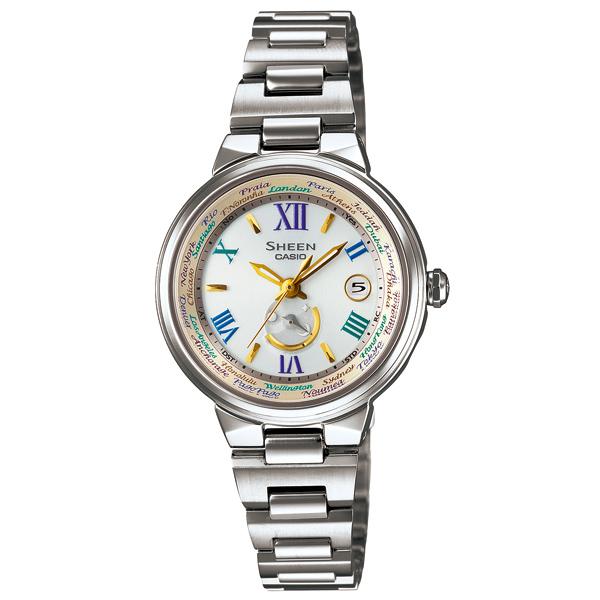 カシオ シーン ソーラー電波腕時計   SHW-1509D-7A3JF  レディース 国内正規品