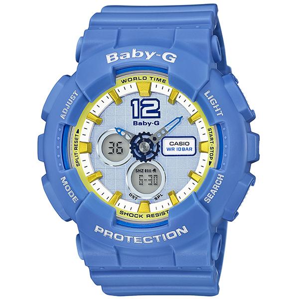 カシオ ベビーG アナ・デジ 腕時計   BA-120-2BJF レディース 国内正規品 【動画有】